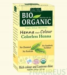 Henna farba na vlasy Bezfarebná