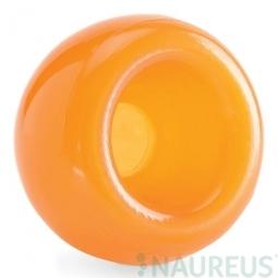 Hračka pre psa PLANET DOG - Orbee-Tuff SNOOP, hračka na pamlsky - oranžová