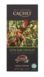 CACHET čokoláda Tanzania Organic horká 85% 100g