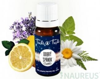 Dobrý spánok prírodný éterický olej-silica