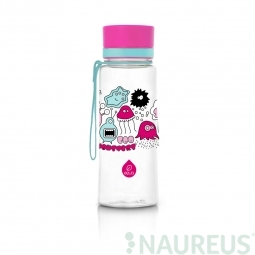Fľaša EQUA Pink Monsters New, 600 ml