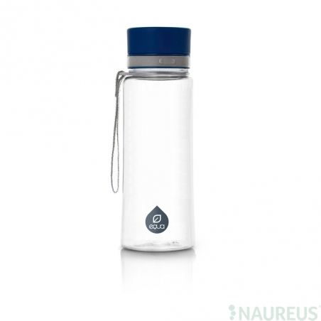Fľaša EQUA Plain Blue, 600 ml