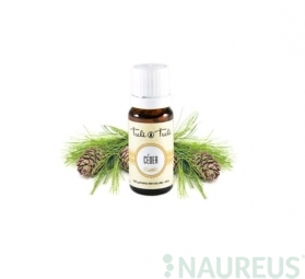Céder prírodný éterický olej silica Ťuli Ťuli
