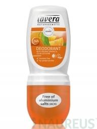 Guličkový dezodorant - Bio pomaranč-rakytník