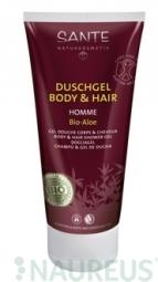 HOMME sprchový gél a šampon BIO Aloe