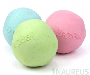 BecoBall EKO-plna-ružová-L