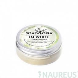 In white - organický krémový deodorant
