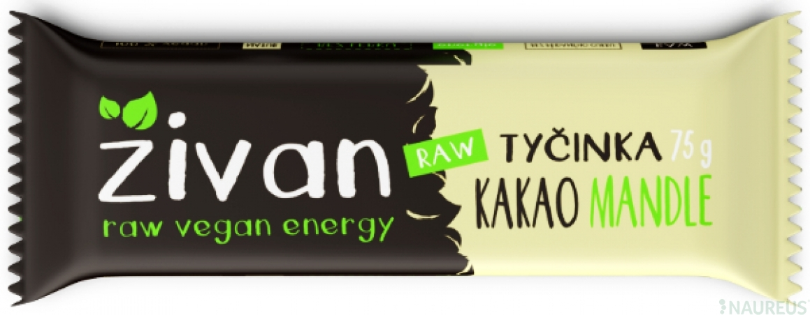 Tyčinka Živan - Kakao a mandle