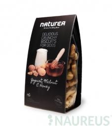 Keksíky - Jogurt, Vlašské orechy a med