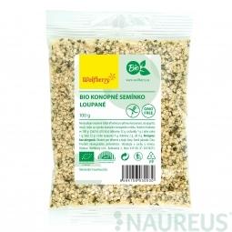 Konopné semienko lúpané BIO 100 g Wolfberry *