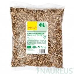 Konopné semienko nelúpané BIO 500 g Wolfberry *