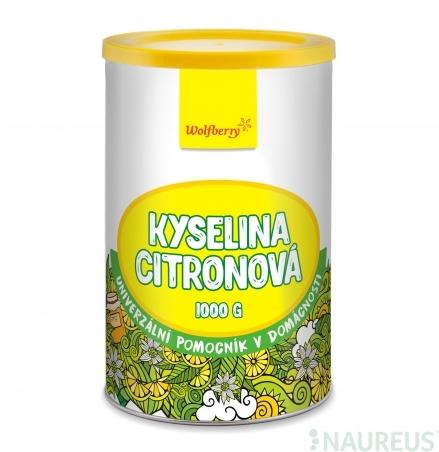 Kyselina citrónová 1000 g Wolfberry