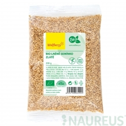 Ľanové semienko zlaté BIO 200 g Wolfberry *