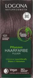 Prášková farba na vlasy – Black intense - 100g