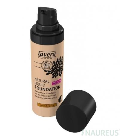 Prírodný tekutý make-up Med-béžová No. 04