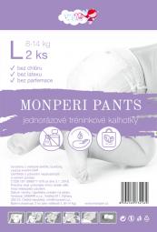MonPeri Pants L 8-14kg -2ks