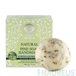 Prírodné ručne robené mydlo z borovice