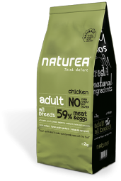 Naturea adult chicken, 12kg