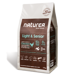 Naturea Light & Senior, 12kg