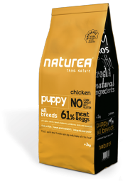 Naturea puppy chicken, 12kg