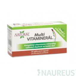 AKCIA SPOTREBA: 09/2019 MULTI Vitaminerál - 30 kapsúl