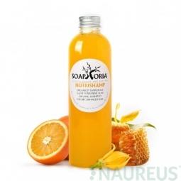 NutriShamp - organický tekutý šampón na suché, namáhané a poškodené vlasy