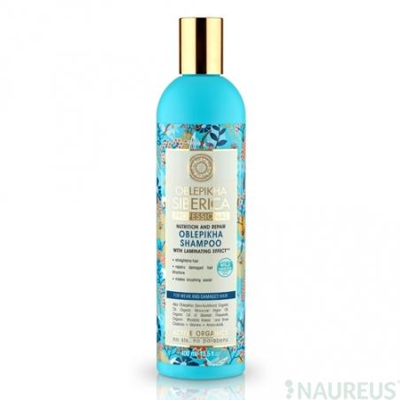 Rakytníkový šampón pre slabé a poškodené vlasy - Efekt