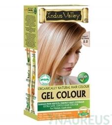 Gélová farba na vlasy Svetlá Blond 8.0