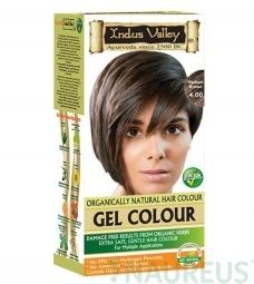 Gélová farba na vlasy Hnedá 4.0