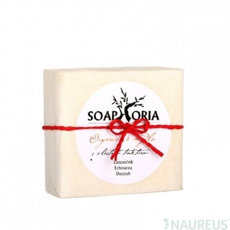 Organické mydlo s vlastnou tinktúrou na ekzémy a dermatitídy