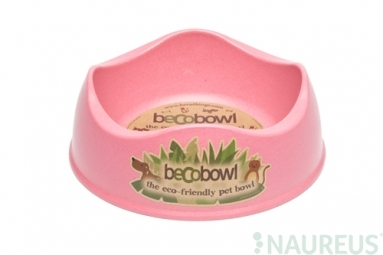 Miska pre psa, BecoBowl, EKO-pink-L