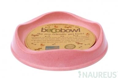 Miska pre mačku, BecoBowl-pink, EKO