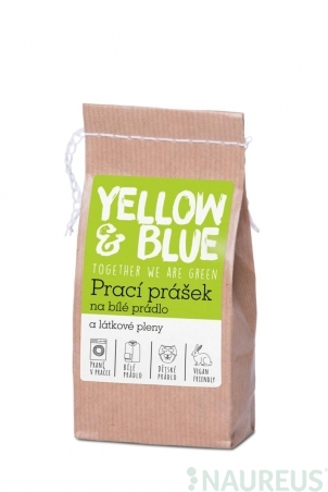 Prací prášok z mydlových orechov na bielu bielizeň a látkové plienky 250 g (zip vrecko)