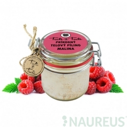 Ťuli a Ťuli - Prírodný telový peeling Malina 85 ml