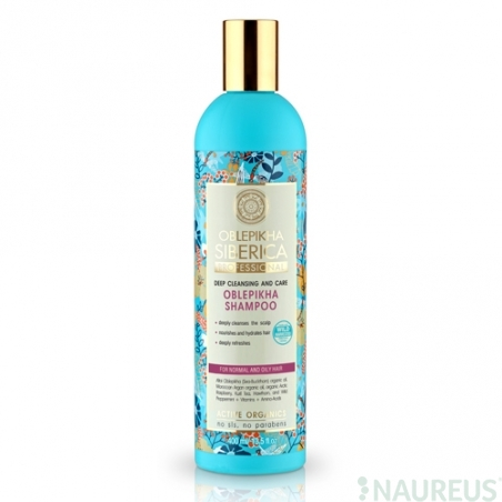 Rakytníkový šampón pre normálné a mastné vlasy - Hĺbkové umývanie a starostlivosť