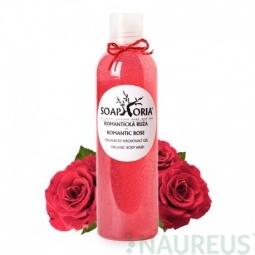 Romantická ruža - organický sprchovací gél