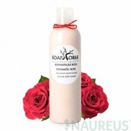 Romantická ruža - organický telový jogurt