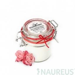 Romantická ruža - voňavý organický kokosový olej