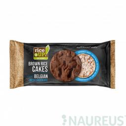 AKCIA SPOTREBA: 27.07.2019 Ryžové chlebíčky s mliečnou belgickou čokoládou 90 g Rice Up