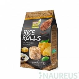 Ryžové minichlebíčky taliansky syr, olivový olej 50 g Rice Up