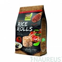 Ryžové minichlebíčky pizza, olivový olej 50 g Rice Up