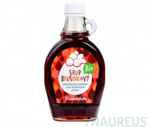 Brusnicový sirup 250 ml BIO