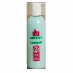 Šampón a kondicionér 2v1 pre mačku 200ml