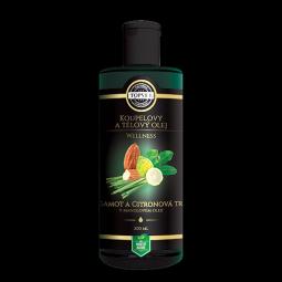 Bergamot a citrónová tráva v mandľovom oleji 200ml