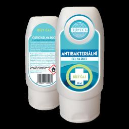 Antibakteriálny gél na ruky - Biely čaj 50ml
