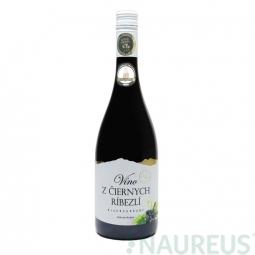 Víno z čiernych ríbezlí 0,75 l