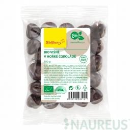 Višne v horkej čokoláde BIO 100 g Wolfberry *