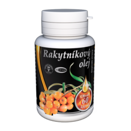 Rakytníkový olej - kapsuly 60ks