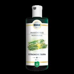 Citrónová tráva masážny olej 200ml