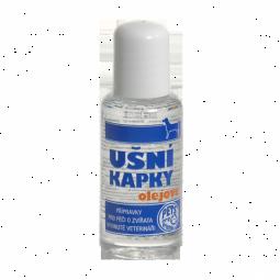 Ušné kvapky olejové pre psov (i mačky) 50ml